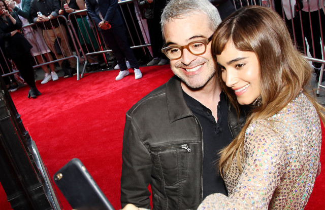 """Saks Fifth Avenue and Universal Pictures Celebrate""""The Mummy"""" with stars Sofia Boutella, Director Alex Kurtzman and Courtney B. Vance, New York, USA - 07 Jun 2017"""